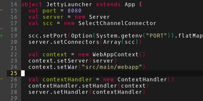Scala development in Vim - Advanced Web Machinery